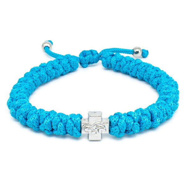 Adjustable Turquoise Prayer Rope Bracelet-0