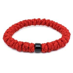 Red Prayer Rope Bracelet with Bead-0