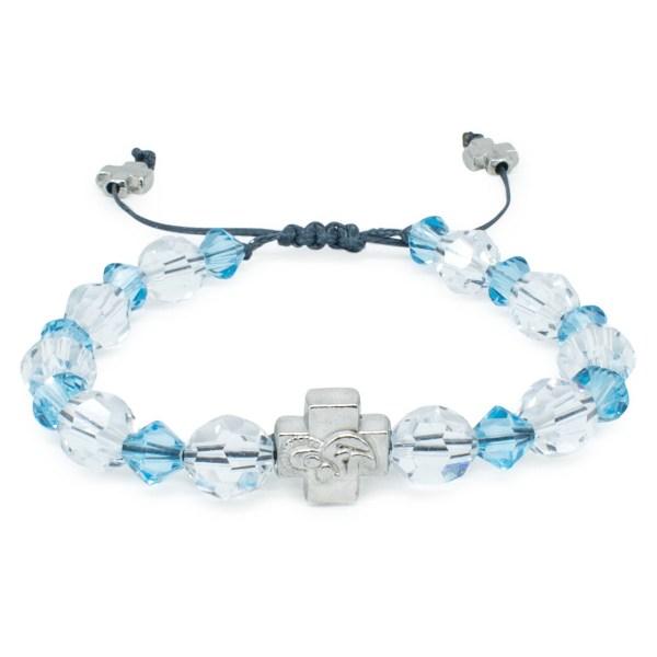 """Swarovski Crystal Orthodox Bracelet """"Angel""""-0"""
