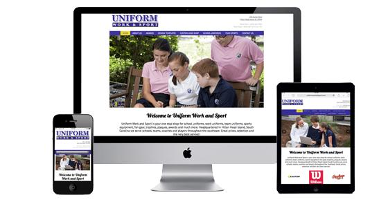 Uniform Work and Sport Website Launch