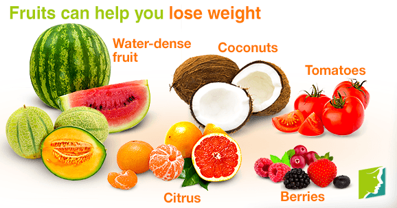 fruits can help you lose weight