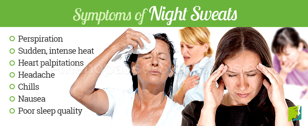 About Night Sweats | 34 Menopause Symptoms