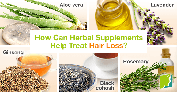How Can Herbal Supplements Help Treat Hair Loss