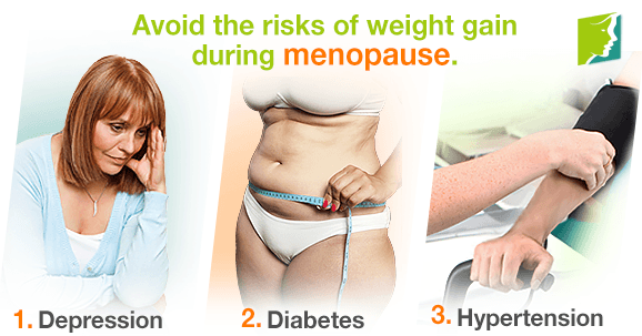 metabolism and weight gain during menopause the risks involved
