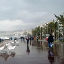 Oras Nicoje išvykstant