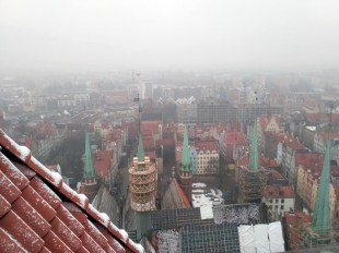 Gdansko panorama