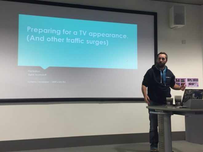 Phil explains how to prepare a WordPress site for a TV appearance