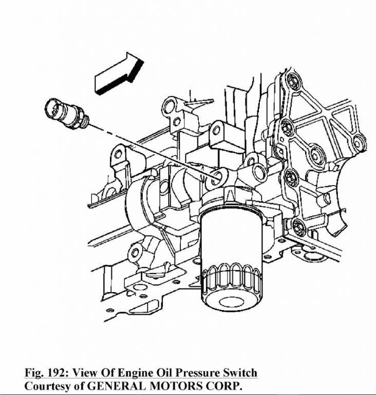 Mercruiser 5 0 Oil Pressure Switch Location, Mercruiser