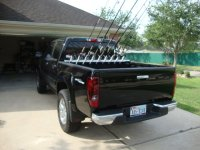 Truck bed surf rod holder - Chevrolet Colorado & GMC ...