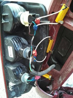 How To: Installing 3057 LED bulbs in tail lights  Page 3  Chevrolet Colorado & GMC Canyon Forum