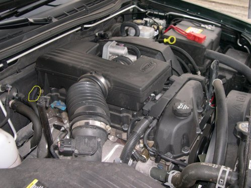 small resolution of locate and replace the ect sensor on canyon chevrolet colorado 2008 chevy colorado engine diagram