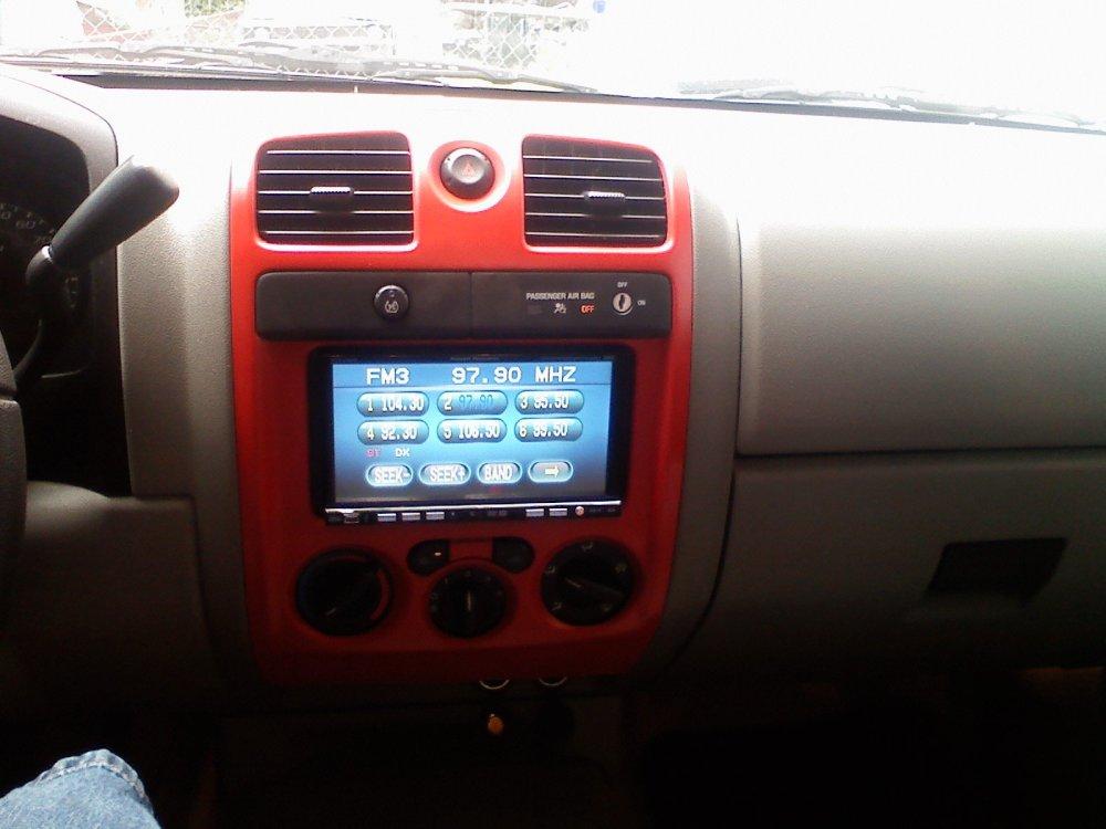medium resolution of painted interior radio cover 0614001456 jpg