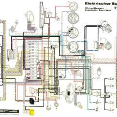 Vw T2 1970 Wiring Diagram Holden Colorado Rg Porsche 356 Restoration Gallery
