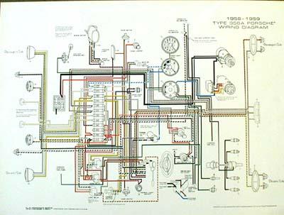 Change Generator To Alternator Wiring Diagram Porsche 174 1956 1959 Wiring Diagram Poster Ynz S 356