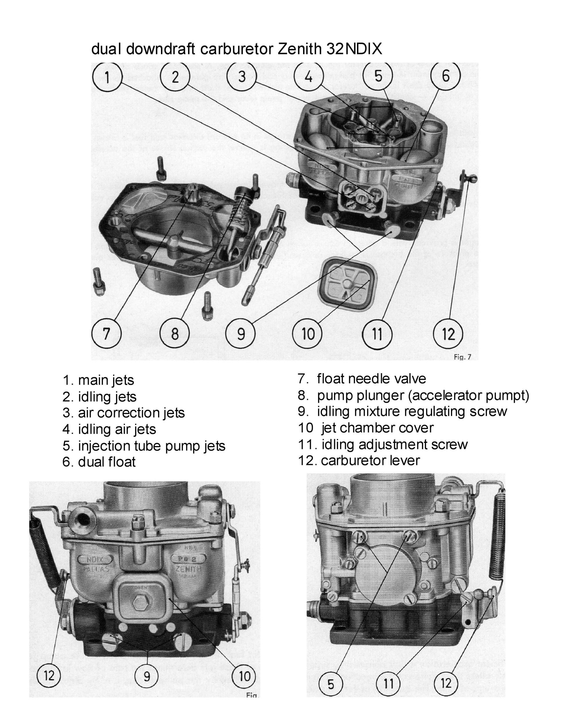 hight resolution of those diagrams will also help you in ordering parts if you want to repair or rebuild your carburetors yourself most of all these diagrams are essential in