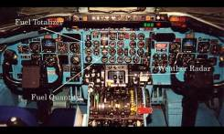 A cockpit similar to the plane that ditched.