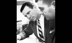 Steedman Hinckly (pronounced Stedman), shown on the left, was the charismatic President and CEO of ONA. He was just 33 years old when he resurrected ONA in 1965.