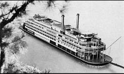One of two river boats owned and operated by ONA