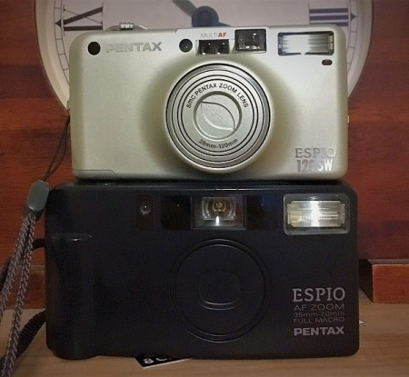Pentax Espio 120SW & AF Zoom Cameras
