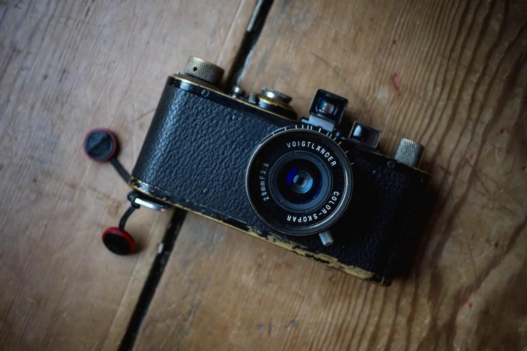Voigtlander 28mm f/3.5 Color-Skopar