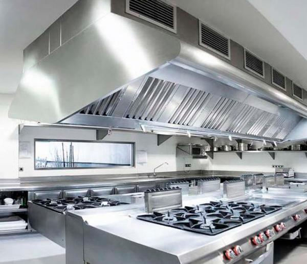 industrial kitchen hood in 360 Commercial Cleaning | Overland Park, KS Hood Exhaust Cleaning, hood cleaning, commercial