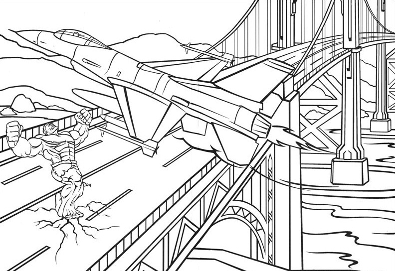 The Incredible Hulk Coloring Pages Free Coloring Pages Globalchin