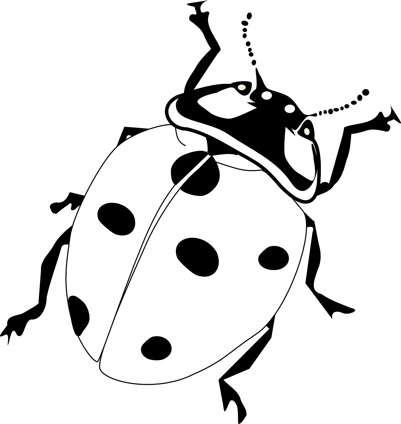 Ladybug Coloring Picture Coloring Page Lady Bug Coloring Pages