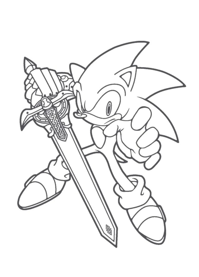 Sonic the Hedgehog Coloring Pages  26ColoringPages