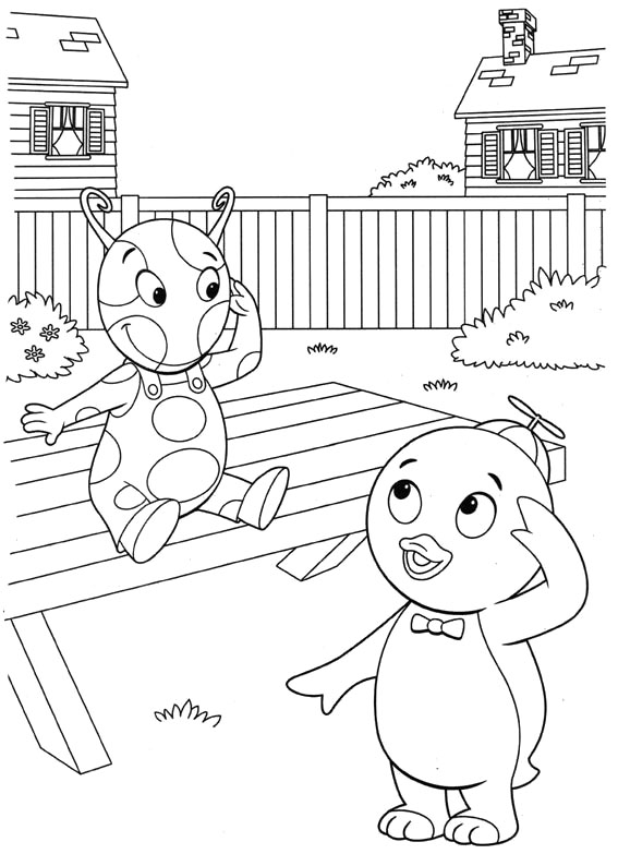 backyardigans coloring pages  3coloringpages