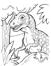Dinosaur Coloring Pages | 360ColoringPages