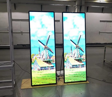 LED Poster DisplayMultiScreen LED Poster Screen  360DS