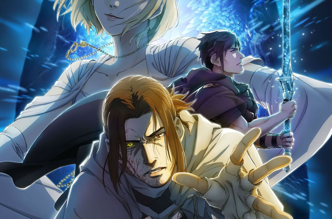 Final Fantasy XV's last DLC gets a killer piece of anime promo art 1