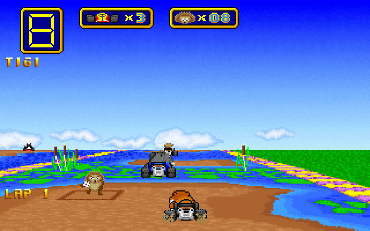 Wacky Wheels is available on Steam, although it's a little creakier than I remember it.