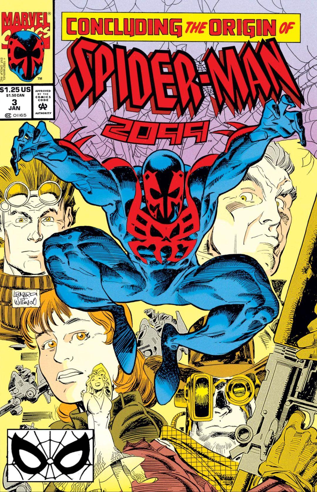 Spider-Man 2099 #3, Marvel Comics (2018).