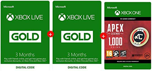 Xbox Live Gold Membership 3 Months Free May 2019 1