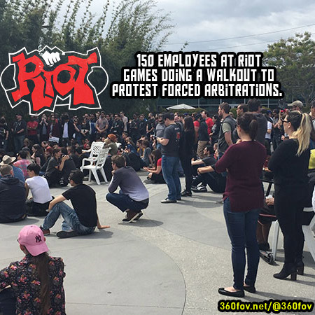 Big news in the  industry; 150 staff have walked out of  in protest!  are the de... 2