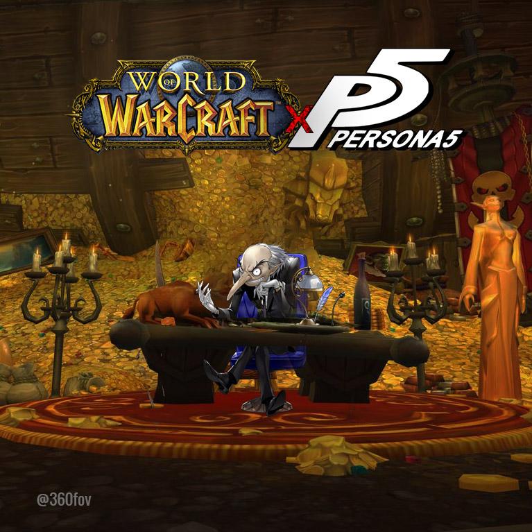 Warcraft Igor Persona 5