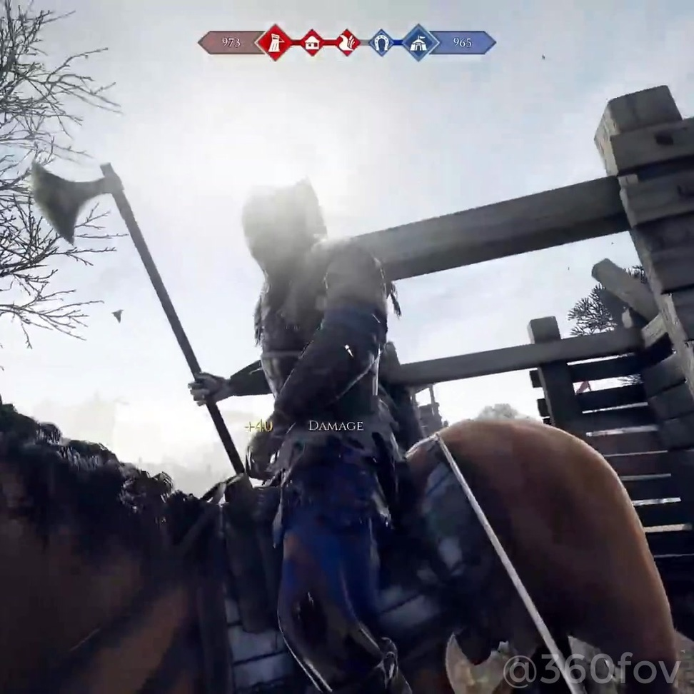- *WARNING* BLOOD, GUTS & YELLING MEN - A minute of absolute chaos from Mordhau... 1