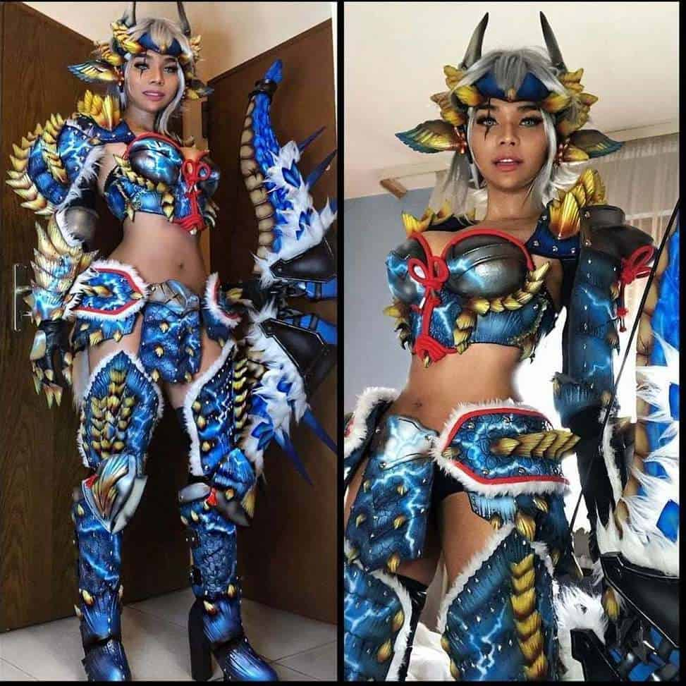 is incredible,and this is only a glimpse of her diverse cosplay repertoire. Fol