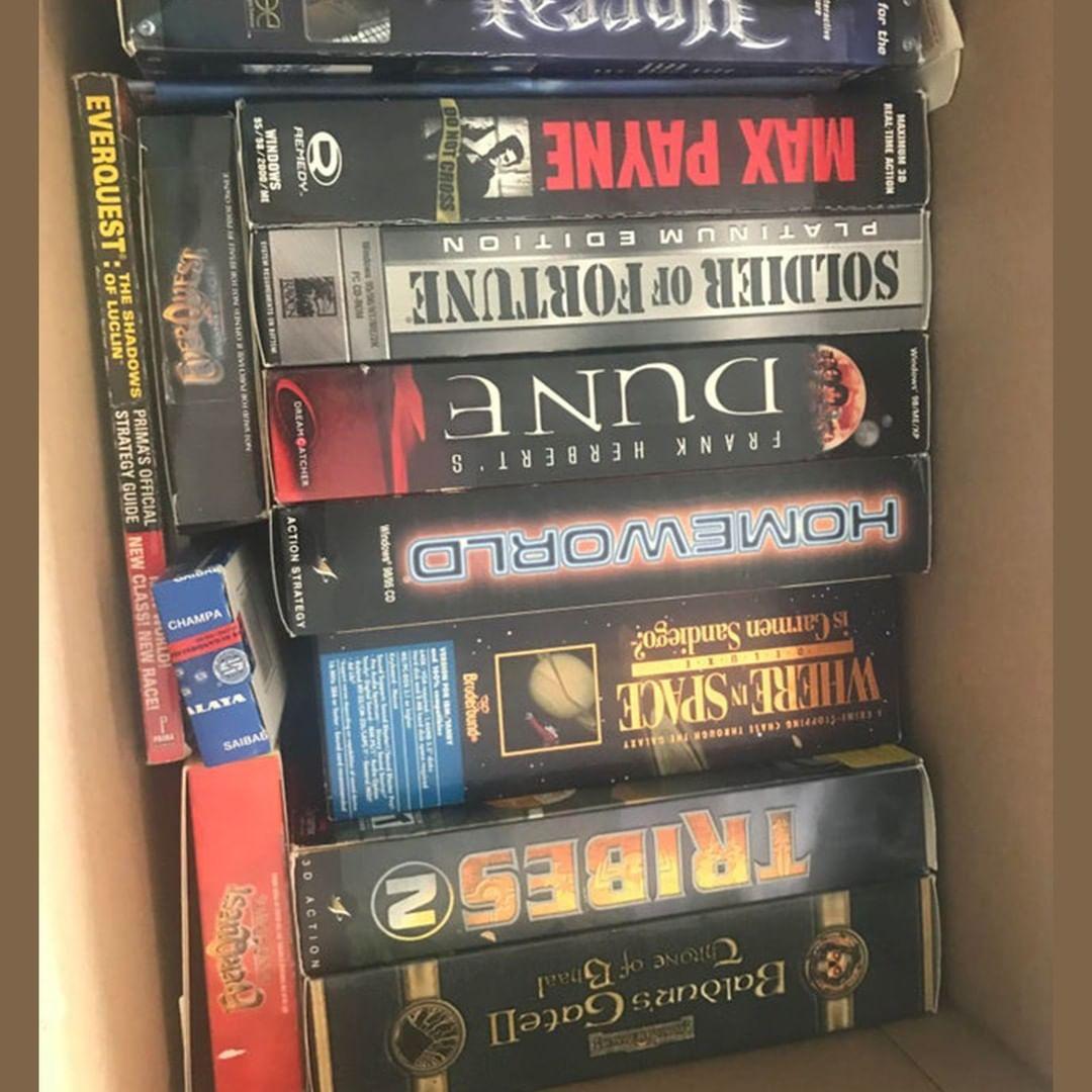 ChezTheHero1 discovered a box of nostalgia so similar to mine... in the UK, stan 2