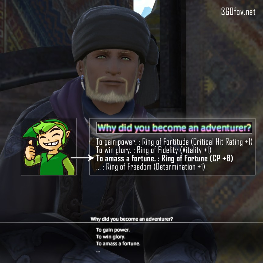"FFXiv ""Why Did You Become An Adventurer?"" - Intro Dialogue (Ring Of Fortune) 1 FF14, Final Fantasy MMO"