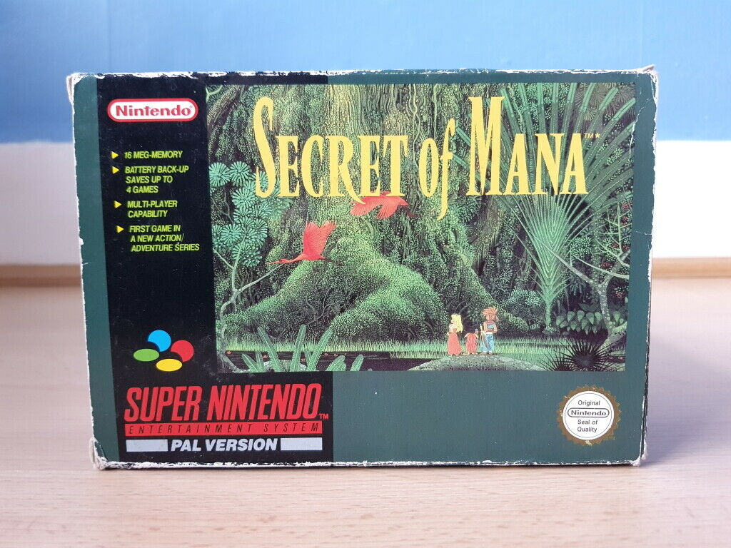 Secret of Mana - Complete Nintendo Power Guide 1 JRPG, Magazine, Nintendo Power, Secret of Mana