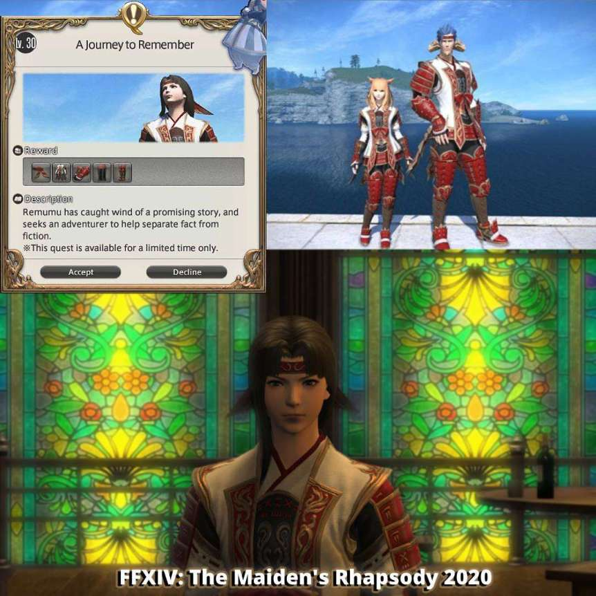 Final Fantasy XIV May 2020 Event - The Maiden's Rhapsody: Memories of an Unseen 2 Gaming