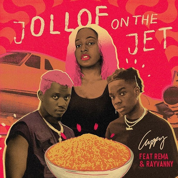 DJ Cuppy Jollof On The Jet