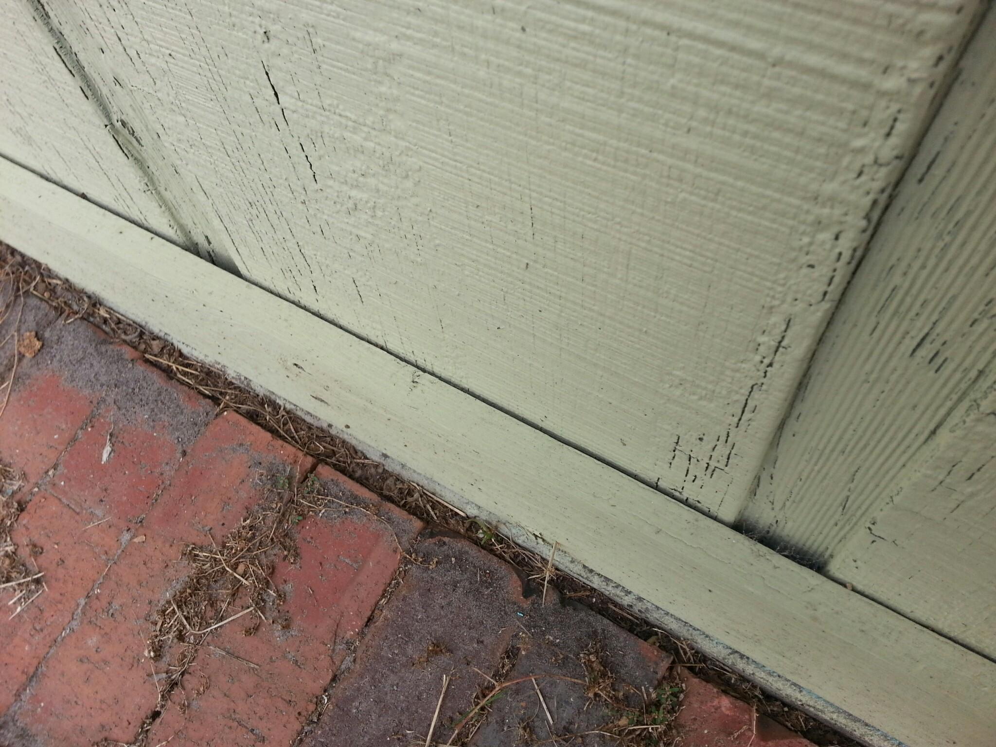 Siding Installation Problem