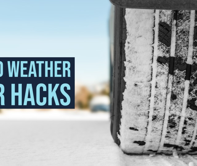 Cold Weather Car Hacks