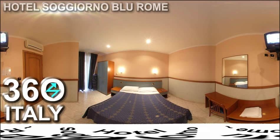 Hotel Soggiorno Blu Rome  Virtual Tour