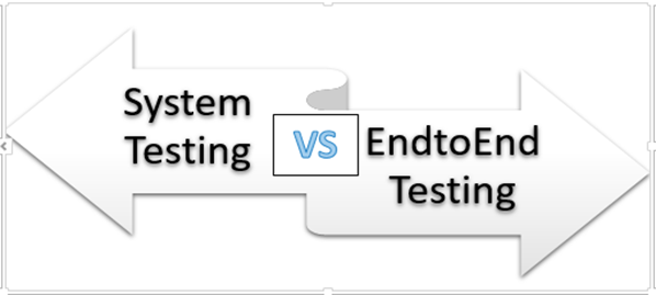 Difference between System Testing and End to end Testing