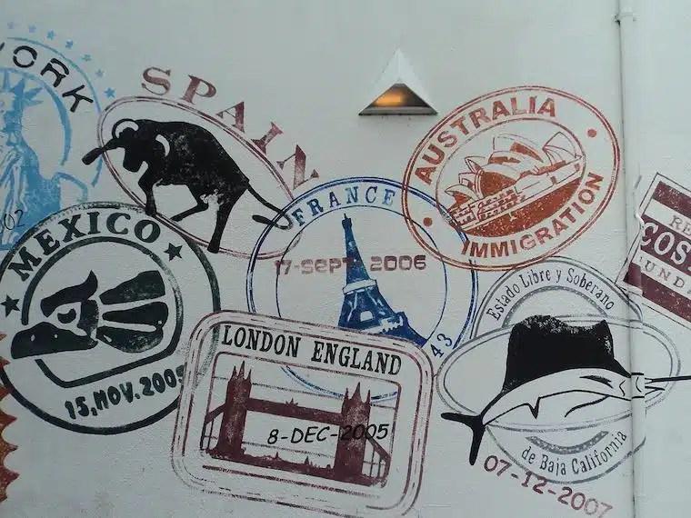 Carimbos de Passaporte