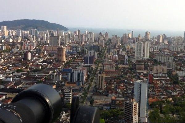 Gigafoto de Santos (SP)